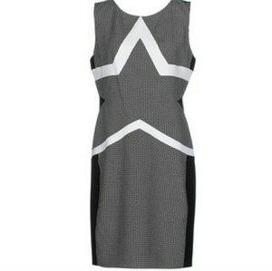 Diane Von Furstenberg short black dress size 2